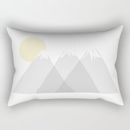 Mountainous  Rectangular Pillow