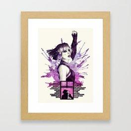 The Edge Of Glory Framed Art Print