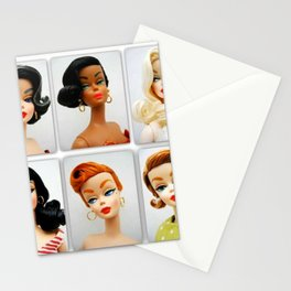 Doll Faces Stationery Cards