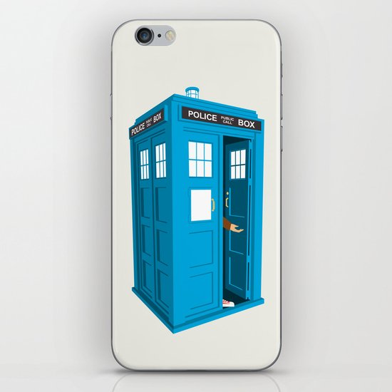Doctor Who: Long Live the Tenth Doctor iPhone & iPod Skin
