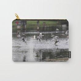 Birds on the run Carry-All Pouch
