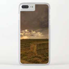 Hay Storm Clear iPhone Case
