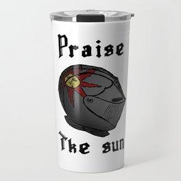 Praise the sun Travel Mug