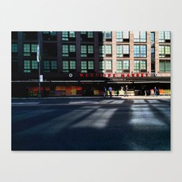 Westside Market Morning Reflection Canvas Print