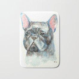 French bulldog Bath Mat