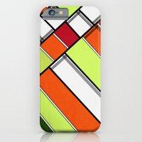 Lined II iPhone 6s Slim Case