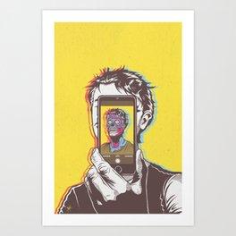 #Conform #Consume #Obey Art Print