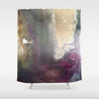 the royal tenenbaums Shower Curtains featuring Royal by artbymeJWG