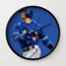 BlueJays - Legobricks Wall Clock