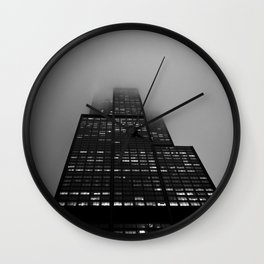 Long Roads Wall Clock