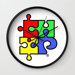 ChiPuzzle Wall Clock
