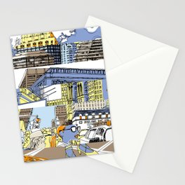 NY Stripes Stationery Cards