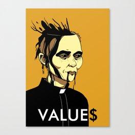 Value$ Canvas Print