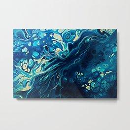 River of Blue Metal Print