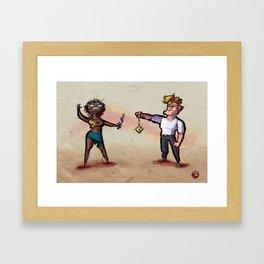 Use Verb on Noun #24: Gabriel Knight Framed Art Print