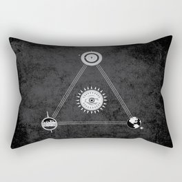 Cosmic Trinity Rectangular Pillow