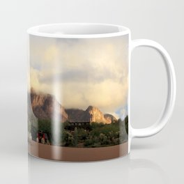 Clouds on the Mountain Coffee Mug