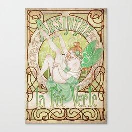 La Fée Verte Canvas Print