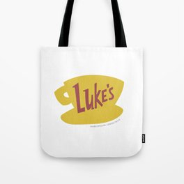 Everything's sunny side in a diner Tote Bag