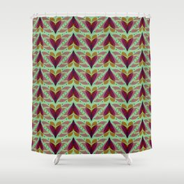 Fish tales 1c Shower Curtain