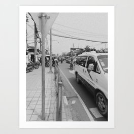 Streets #3 Art Print