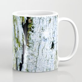Weathered Barn Wall Wood Texture Coffee Mug