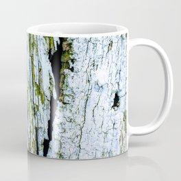 Weathered Barn Wall Wood Texture Coffee Mug
