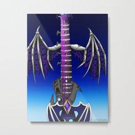 Fusion Keyblade Guitar #86 - Oblivion & Fatal Crest Metal Print