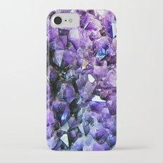 Amethyst Geode Slim Case iPhone 7