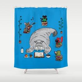 Quiet Time Shower Curtain