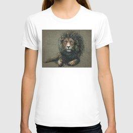 Lion background T-shirt