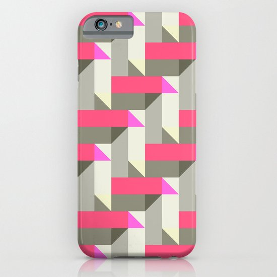 Herringbone geometric iPhone & iPod Case