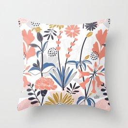 Mama Rosa Garden Throw Pillow