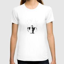 Hot coffee T-shirt