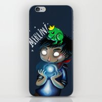 merlin iPhone & iPod Skins featuring Merlin!!! by Fla'Fla'