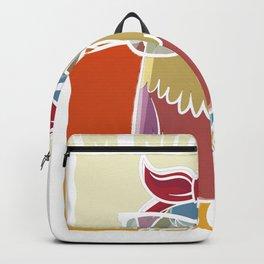 I'm not a nerd - owl owl motif nerd Backpack