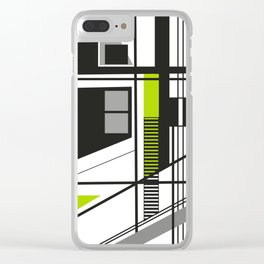 Linear Line 17 Clear iPhone Case