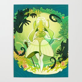 A World of Green Poster