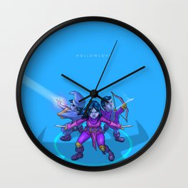 Hollowlove Everything Falls In Line Wall Clock