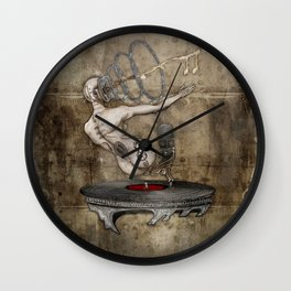 Oracle of sound Wall Clock