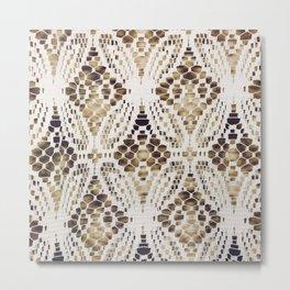 Fabric 1 Metal Print