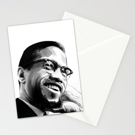 Malcolm Smile by Joaquín Esteban J. Stationery Cards