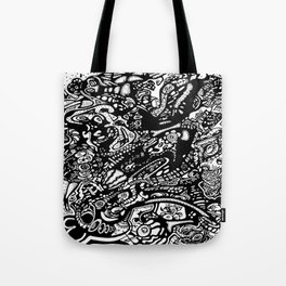 Space Invader Tote Bag