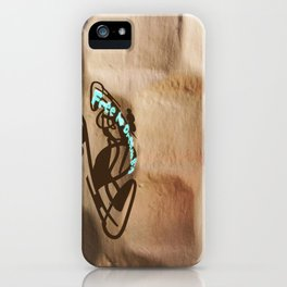 Free to Dream Big iPhone Case