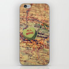All Mine New Orleans iPhone & iPod Skin