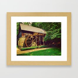Gristmill - Charlottesville, Virginia Framed Art Print