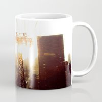 hook Mugs featuring Hook, Line & Sinker by Phil Provencio