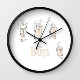 harry potters the doctor Wall Clock