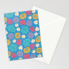RocoFloral (blueberry) Stationery Cards