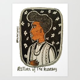 Return of the Rudeboy - Coiffure Art Print